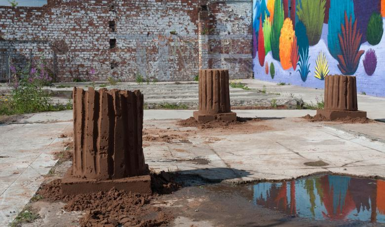 Alex Frost, New Ruins, 2013 The Walled Garden, Glasgow