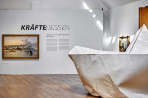 Kräftemessen - Ausstellungsansicht I