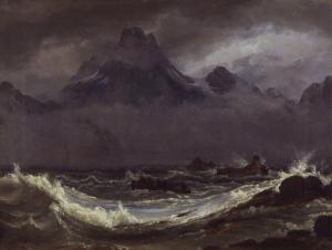 Johann Christian Dahl - Schiffswrack an der Küste Finnmarks