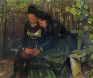 Otto Heinrich Engel, Im Schatten der Laube