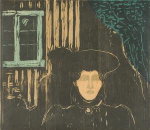 Edvard Munch - Mondschein I