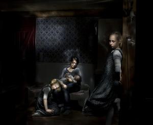 Mila Teshaieva - Familie aus Oldsum