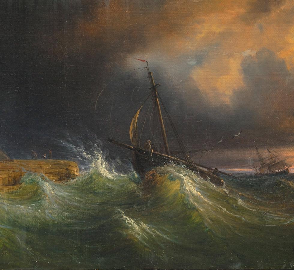 Thomas Fearnley Seestück, n. d., Museum Kunst der Westküste, Alkersum/Föhr